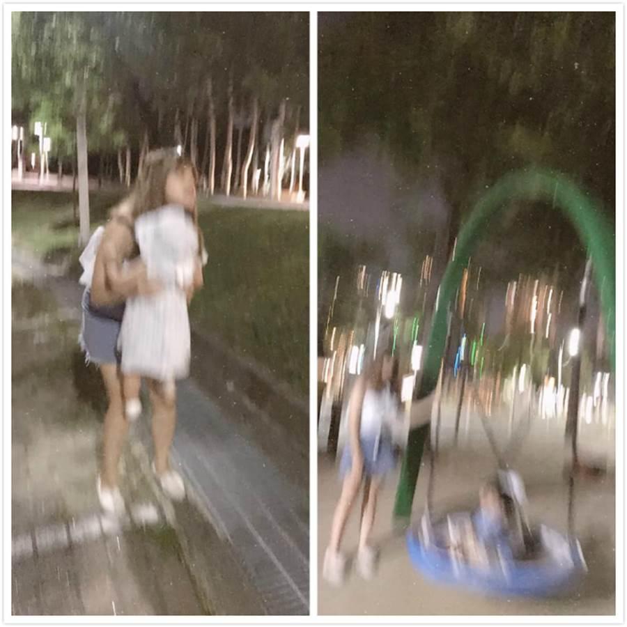 女網友秀出老公幫她拍的「美照」,笑翻2.4萬人 (圖/爆怨公社)
