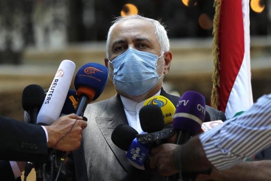 伊朗外交部長札里夫。(美聯社)