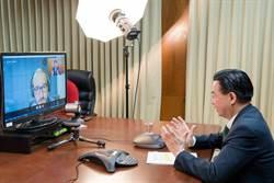 捷克电视台专访 吴钊燮:乐见台捷更多经贸合作