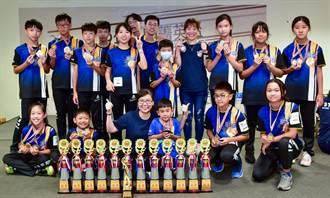 新竹競技疊杯選手  全國大賽創10項新紀錄奪18金