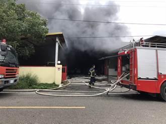 雲林土庫包裝工廠傳火警 男員工燒傷送醫急救