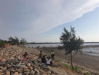 中央地方合力活化 三條崙海水浴場再現人潮