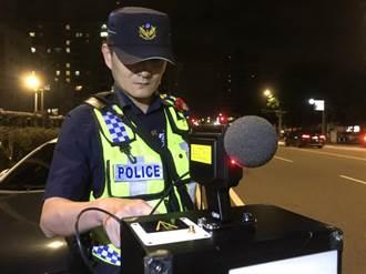 平鎮警推新型科技執法 同時取締噪音及超速