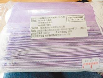 竹市藥局賣不明口罩 挨罰百萬