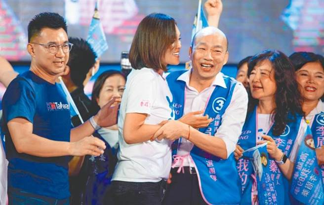 面對高雄市長補選結果,韓國瑜嘆了一口氣,表示「好好建設高雄吧!」(本報資料照片)