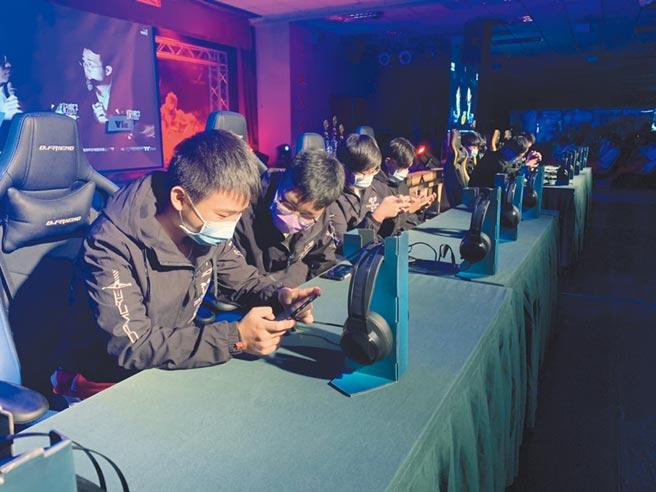 2020電競青年聯賽14日進行總決賽。(黃婉婷攝)