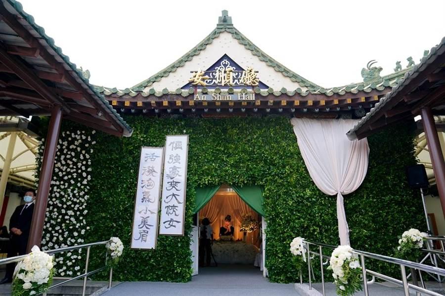 羅霈穎告別式於台北市立第一殯儀館舉行。(圖/冬瓜行旅提供)