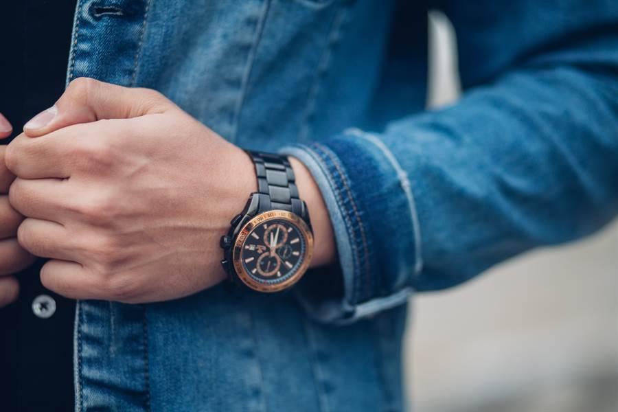 滑開錶蓋上沒有任何時分針與數字,卻被網友稱做最精準的手錶(示意圖/達志影像)