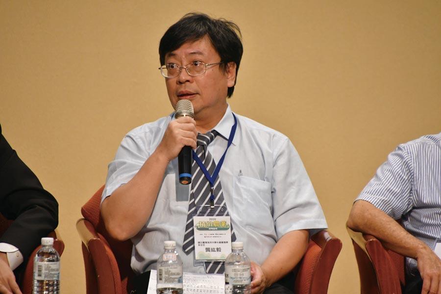 國立臺灣海洋大學水產養殖學系主任龔紘毅攝影/王德為