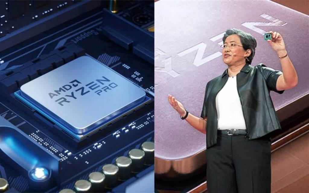 超微的Ryzen處理器採用台積電七奈米製程晶片,獲市場好評,因此加碼包下台積電明年二十萬片七奈米產能。(圖/翻攝自超微官網、報系資料照)