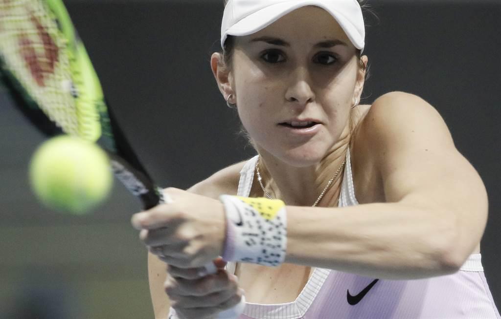 瑞士班西琪也宣布退出今年美網賽事。(資料照/美聯社)