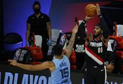 NBA》甜瓜冷箭射殺灰熊 球迷熱血沸騰