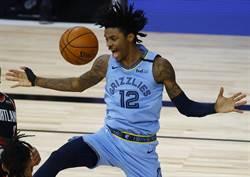 NBA》大拇指骨折照樣拚 莫蘭特自封戰士