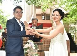 樹德科大校友結連理 學弟妹包辦婚禮