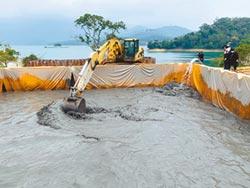 救水壩 台電啟動三水庫排砂工程