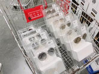 好市多開賣精品太陽眼鏡  網看價格大驚:誇張便宜 整車帶走