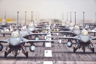 美公布軍購合約 售台F16底定