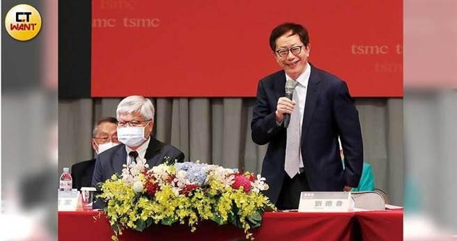 今年股東會後,台積電董事長劉德音宣布資本支出不受疫情影響,將維持不變。(圖/張文玠攝)