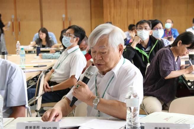 台南市政府舉行農業政策共識營,並聘任13位農業事務諮詢委員,提供建言。(台南市政府提供/莊曜聰台南傳真)