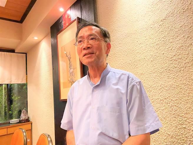 曾任台中市長副市長的台北市副市長蔡炳坤,已釋出「民眾黨在下屆台中市長不缺席」的訊息。(盧金足攝)
