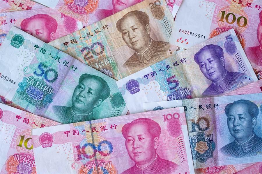 人民幣成全球第5大支付貨幣。(shutterstock)