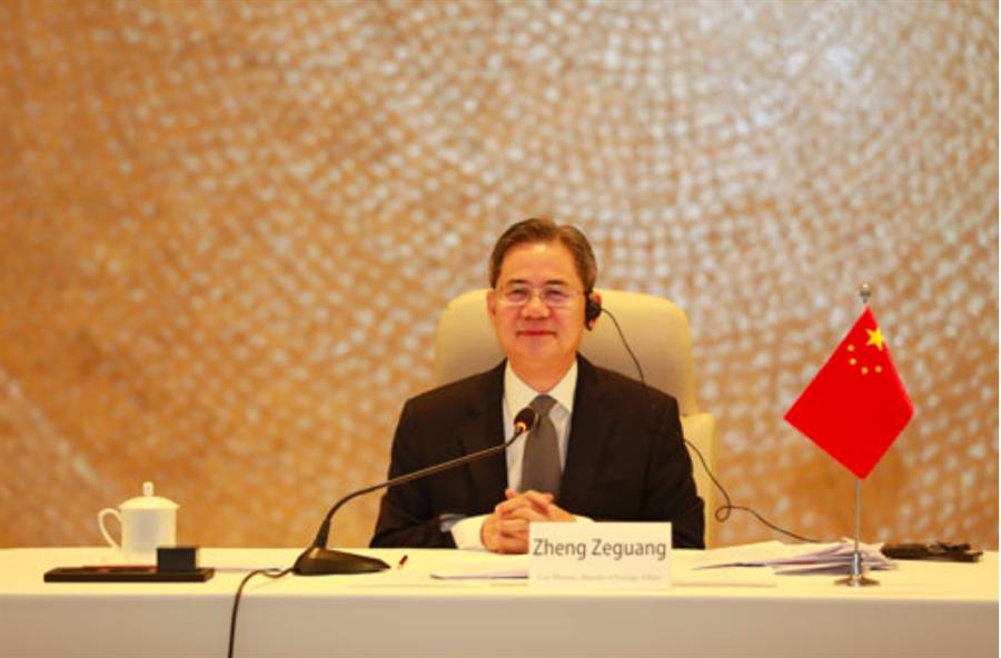 大陸外交部副部長鄭澤光。(鳳凰網)