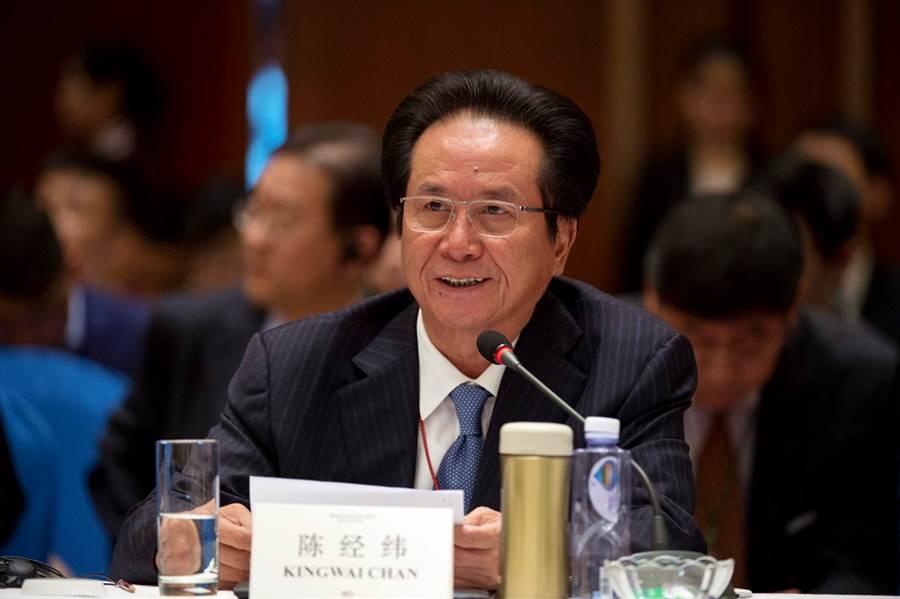 香港經緯集團創辦人陳經緯。(資料照/中新社)