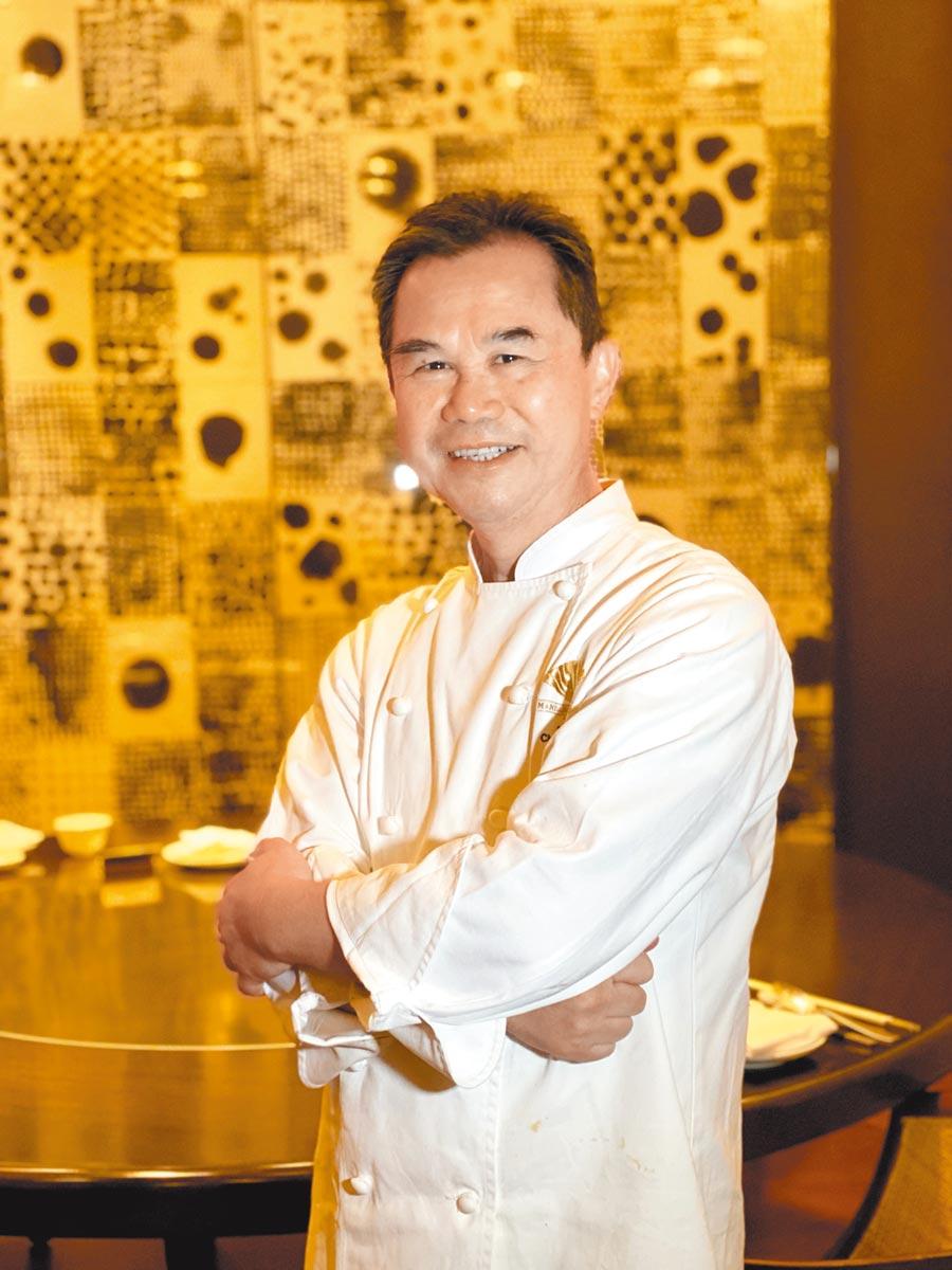台北文華東方酒店米其林一星餐廳雅閣主廚謝文。(台北文華東方酒店提供)