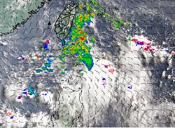 「無花果」颱風最快明天生成 影響台灣時間出爐