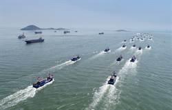 日抗議中國4艘海警局巡邏船駛進釣魚台周邊日本主張的領海內