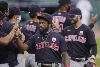 MLB》專門打老虎 印地安人對戰20連勝