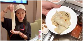 网红用海底捞8食材现场包水饺 网怒轰:不要脸