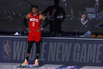 NBA》韋斯布魯克確定缺席首戰 戈登取代