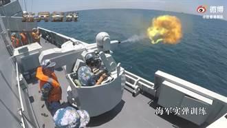 共軍駐港部隊惠州艦演習 張競看出8項問題