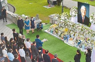 台北賓館悼李登輝 16天逾4萬人