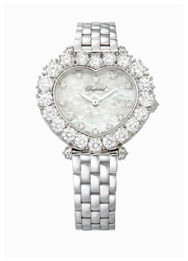 蕭邦L'Heure Du Diamant系列鑽表,274萬元。(CHOPARD提供)