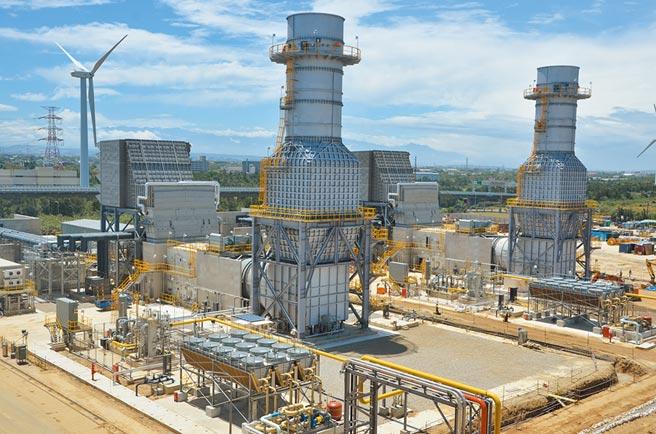 大潭火力電廠新增燃氣機組,投資邁入高峰期。