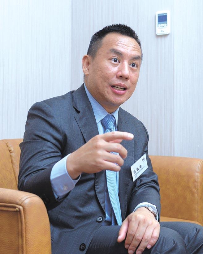 安永諮詢服務(股)公司總經理張騰龍。圖/王德為