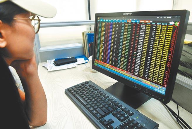 大陸A股近期漲勢強烈,吸引民眾投入股市。圖為福州一位股民用電腦查看股票信息。(中新社資料照片)