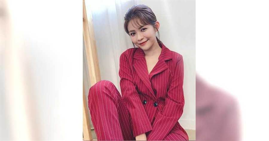演出八點檔暴紅後,林萱瑜對外聲稱單身,也沒有追求者。(圖/翻攝自IG)
