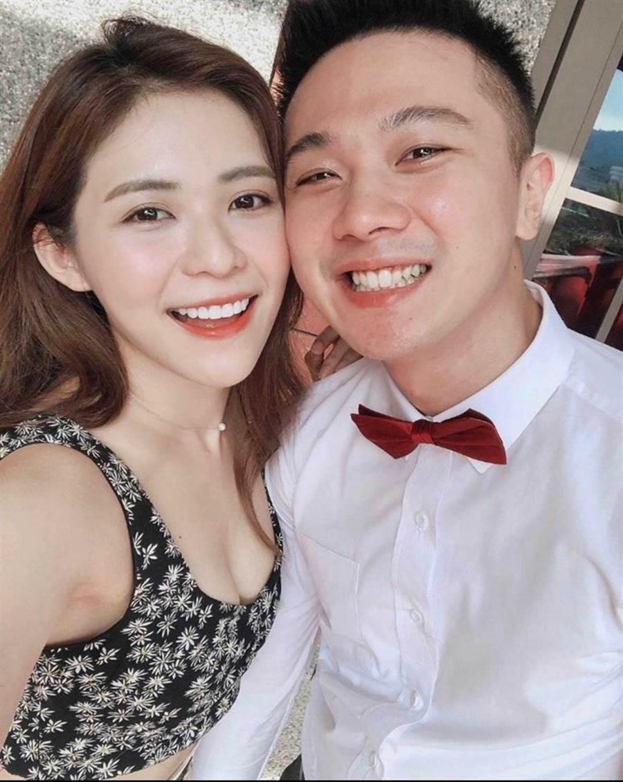 林萱瑜在戲中苦戀,戲外其實有個穩交的圈外男友。(圖/翻攝自IG)