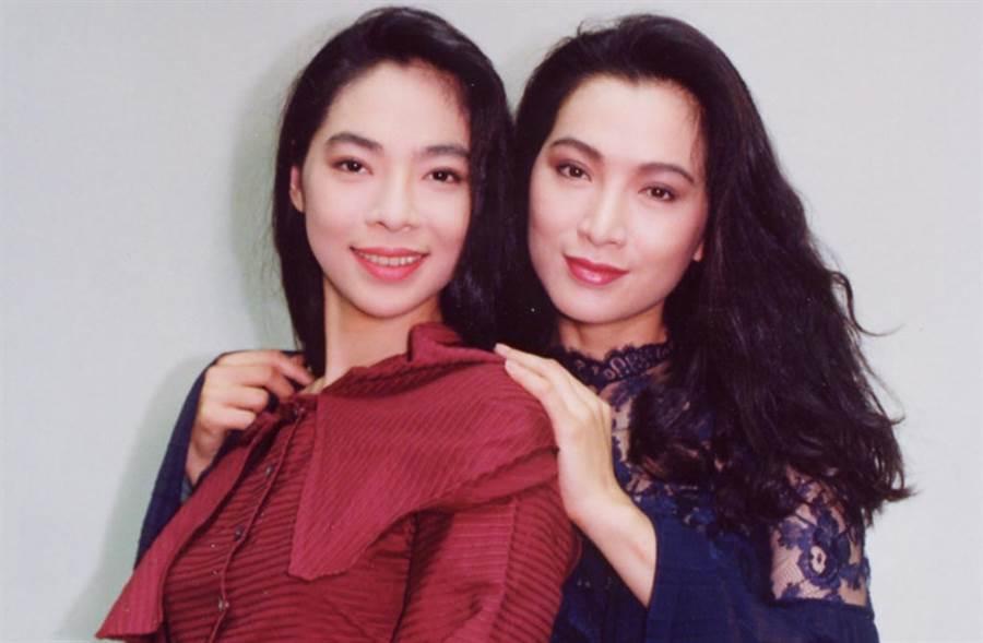 張瓊瑤(左)是張瓊姿胞妹,離婚後獨自撫養罹緩病的女兒Vivian。(中時資料照片)
