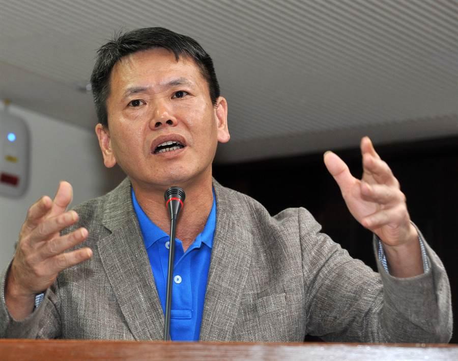 国民党立法院党团总召林为洲。 (资料照,刘宗龙摄)