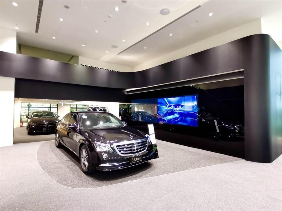 展星時尚 敦南領航 中華賓士全新敦南展示中心正式投入營運行列