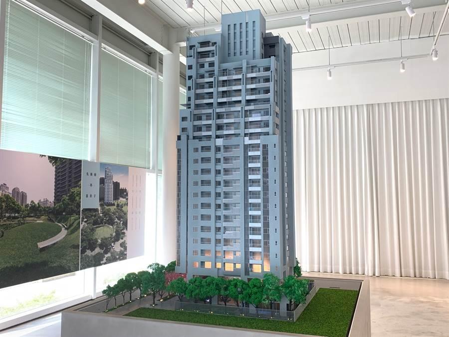 福樺建設新案「富貴中山」,是建商難得推出的小坪數產品。/圖由業者提供