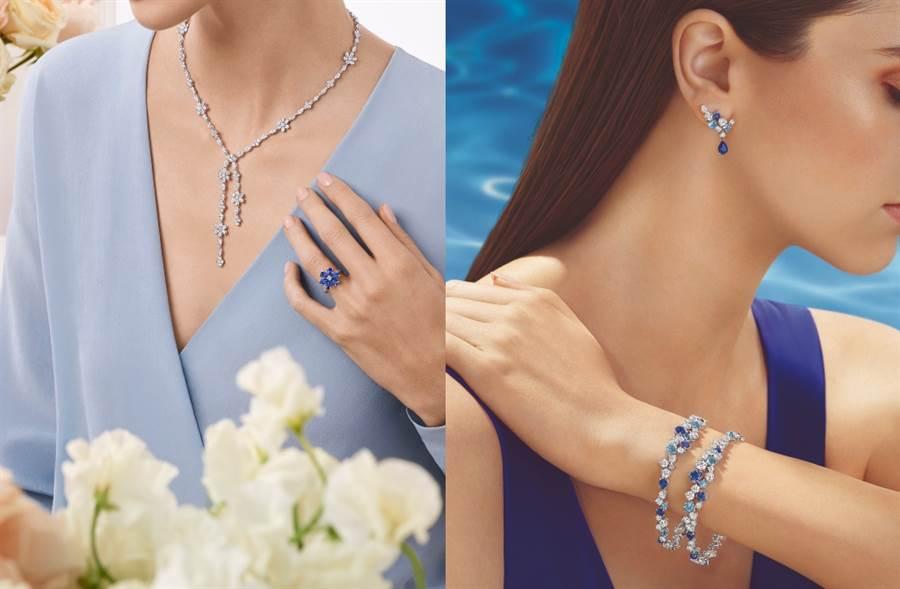 「鑽石之王」海瑞溫斯頓 璀璨沁涼的夏日假期(圖/品牌提供)