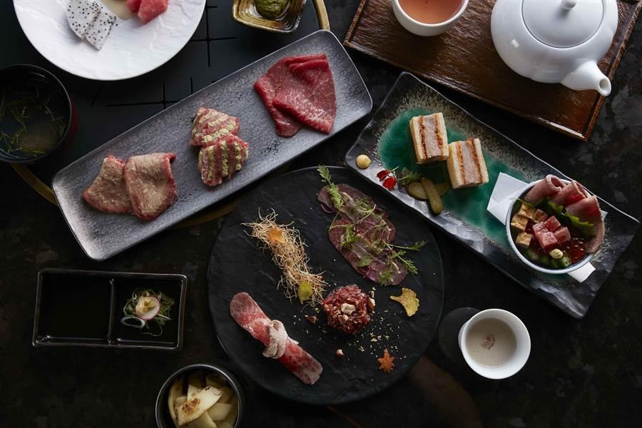 和牛47_秋陽套餐,品嚐「秋意濃」的和牛燒肉懷石。(圖/品牌提供)
