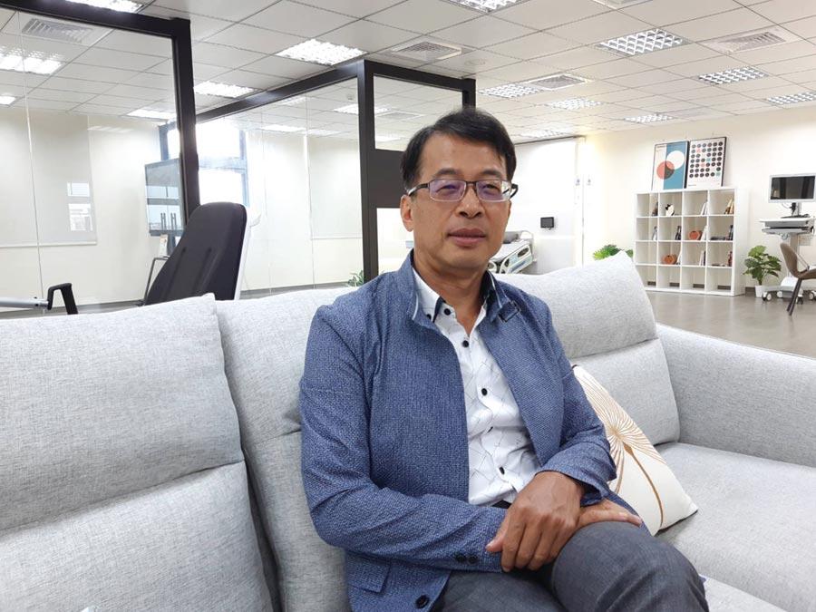 數冠科技創辦人何信瑩教授。圖/謝易晏