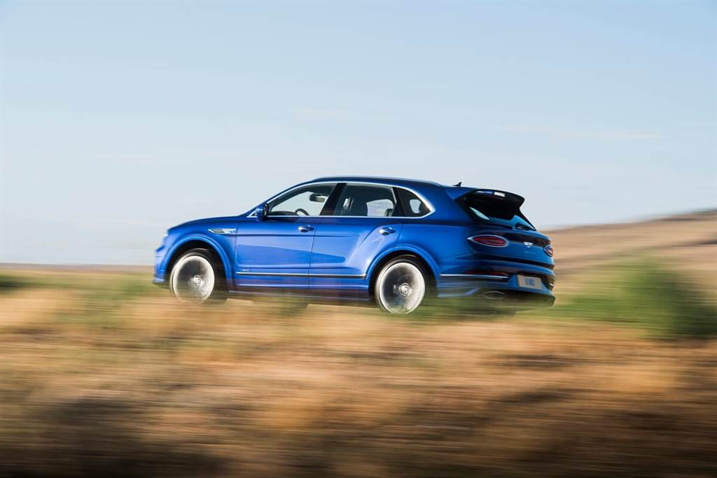 Bentley推出小改款Bentayga Speed具備635匹零百加速3.9秒震撼性能