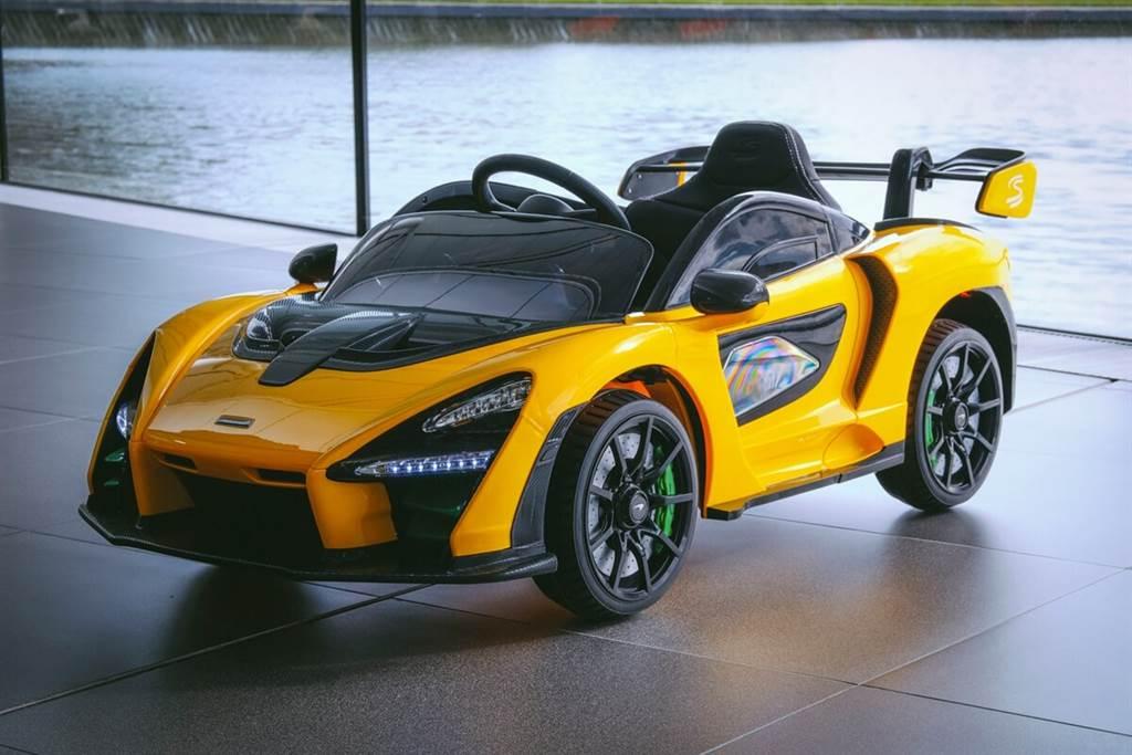McLaren推出純電動力特仕版Senna Ride-On